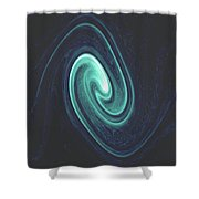 Moveonart Determined  Shower Curtain