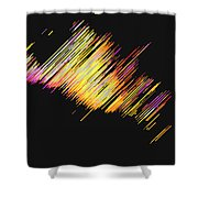 Moveonart Dream Light At Night Shower Curtain