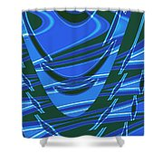 Moveonart Dream Space 1 Shower Curtain