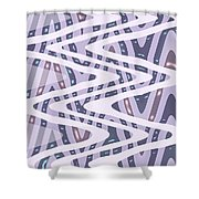 Moveonart Dreamers Waves Shower Curtain