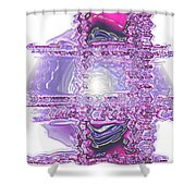Moveonart Dreaming In Color 1 Shower Curtain
