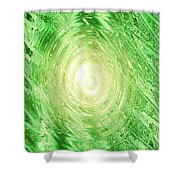 Moveonart Dreams Of Spring Shower Curtain