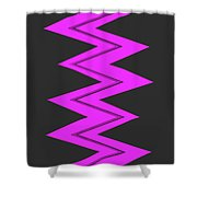 Moveonart Electricpurple Shower Curtain