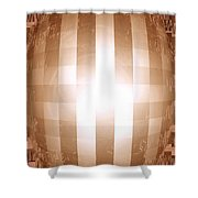 Moveonart Emerging Mind 2 Shower Curtain
