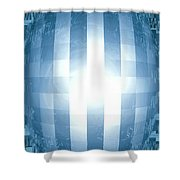 Moveonart Emerging Mind 3 Shower Curtain