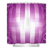 Moveonart Emerging Mind 4 Shower Curtain