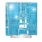Moveonart Energy Efficient Growth Factor Shower Curtain