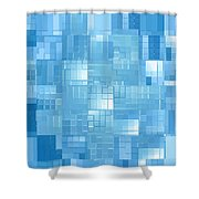 Moveonart Energy Efficient Urban Development 3 Shower Curtain