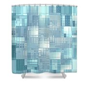 Moveonart Energy Efficient Urban Development Shower Curtain