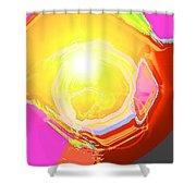 Moveonart Enlightened Artistic Society Shower Curtain