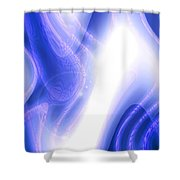 Moveonart Extraterrestrial Movement 1 Shower Curtain
