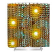 Moveonart Eye And Light Engagement Two Shower Curtain