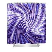 Moveonart Future Grasp 4 Shower Curtain