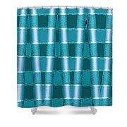 Moveonart Future Texture 1 Shower Curtain
