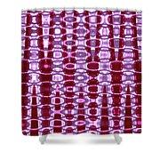 Moveonart Future Texture 2 Shower Curtain
