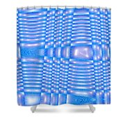 Moveonart Future Texture 3 Shower Curtain