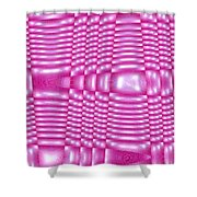 Moveonart Future Texture 4 Shower Curtain