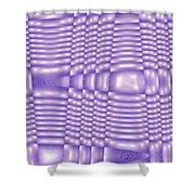 Moveonart Future Texture 5 Shower Curtain