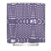 Moveonart Future Texture 6 Shower Curtain
