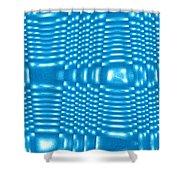Moveonart Future Texture 8 Shower Curtain