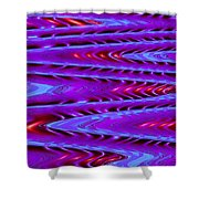 Moveonart Future Texture Now One Shower Curtain