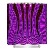 Moveonart Future Texture Now Two Shower Curtain