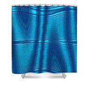 Moveonart Future Texture Soul 1 Shower Curtain