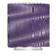 Moveonart Future Texture Soul 2 Shower Curtain