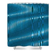 Moveonart Future Texture Soul 3 Shower Curtain