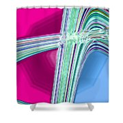 Moveonart Good Memory Of The Waves Shower Curtain