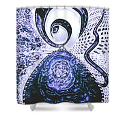 Moveonart Gothic Gertrude 1  Shower Curtain