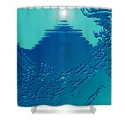 Moveonart Green Memories One Shower Curtain