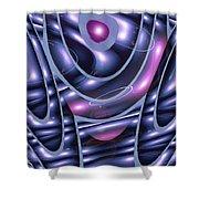 Moveonart Healing Waves For You Shower Curtain