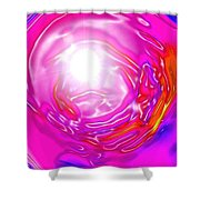Moveonart In Light Of The Matter Shower Curtain