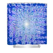 Moveonart Intense Cool Centering Shower Curtain