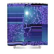Moveonart Inter Dimensional Shift One Shower Curtain