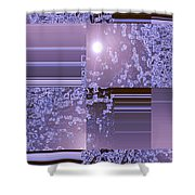 Moveonart Inter Dimensional Shift Two Shower Curtain