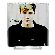 Moveonart Jacob In Paris Shower Curtain