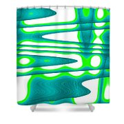 Moveonart Jacobs Abstract 2 Shower Curtain