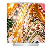 Moveonart Letting Go Three Shower Curtain