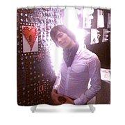 Moveonart Light Love Peace Art 2 Shower Curtain