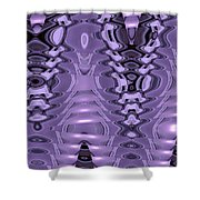 Moveonart Light Wave Vibe 1 Shower Curtain