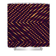 Moveonart Lite In Nite 1 Shower Curtain
