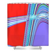 Moveonart Live Move Collaborate Shower Curtain