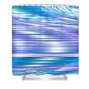 Moveonart Longing For Waves Of Renewal Shower Curtain