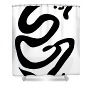 Moveonart Minimal 2 A Shower Curtain