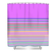 Moveonart Minimal Mood In Color 1 Shower Curtain