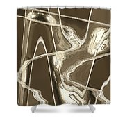 Moveonart Move 14 Shower Curtain