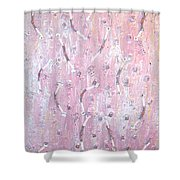 Moveonart Music And Art Connection Pink Shower Curtain
