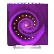 Moveonart Mysterious Secret Shower Curtain
